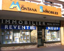 Montana immobilier Grand Bornand